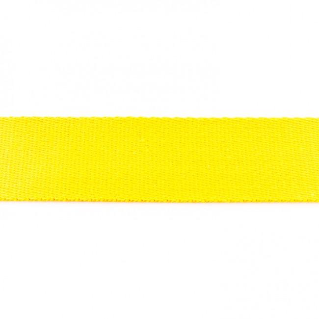 Tassenband Katoen | Geel | 4cm breed