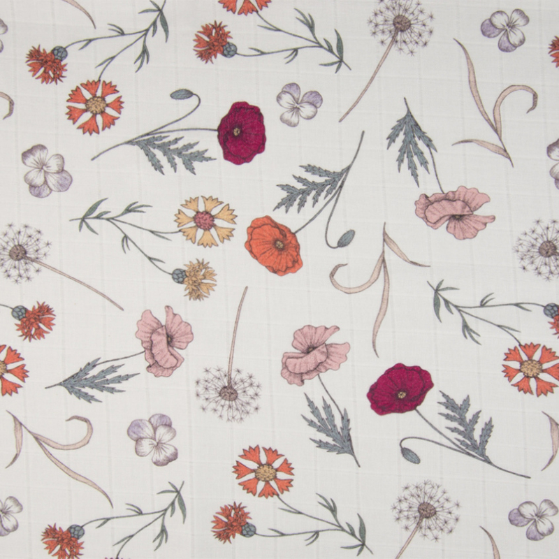Mousseline | Digital Print | Flowers