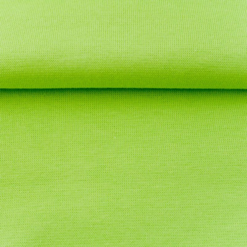 tricot boordstof   licht lime