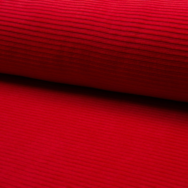 Jersey Corduroy   Red 015