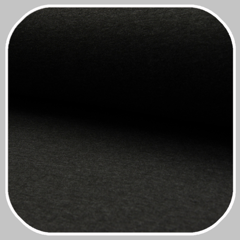 Heavy jogging tricot | 968  - Dark grey melange