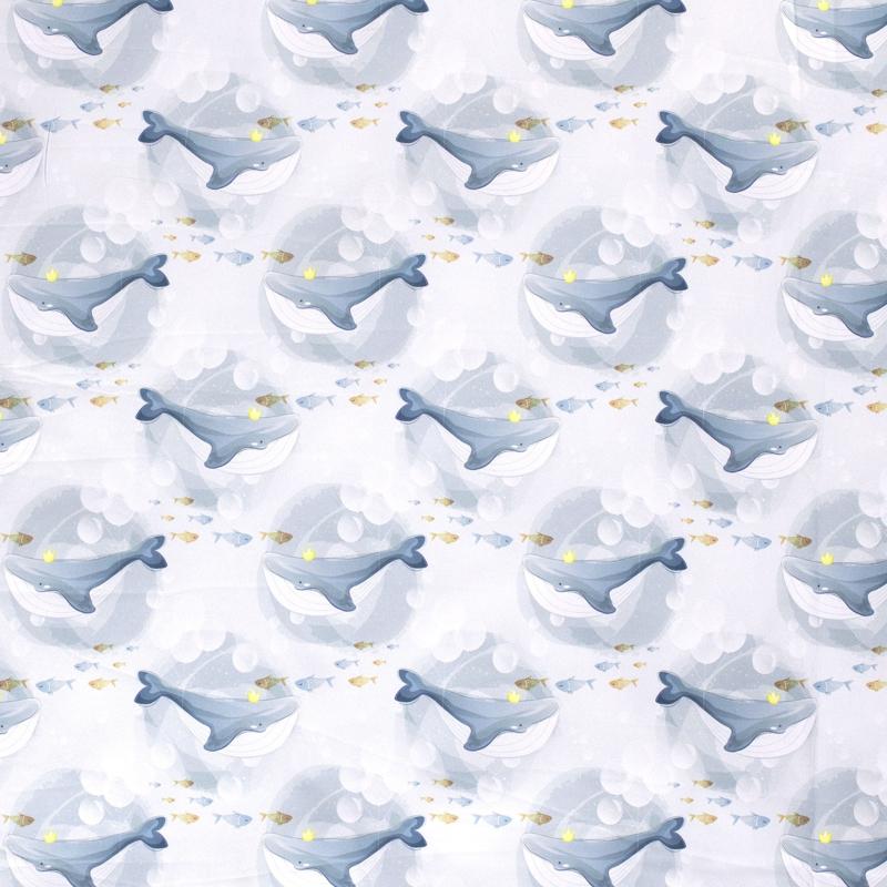 Softshell   Walvis met Kroontje - Grey