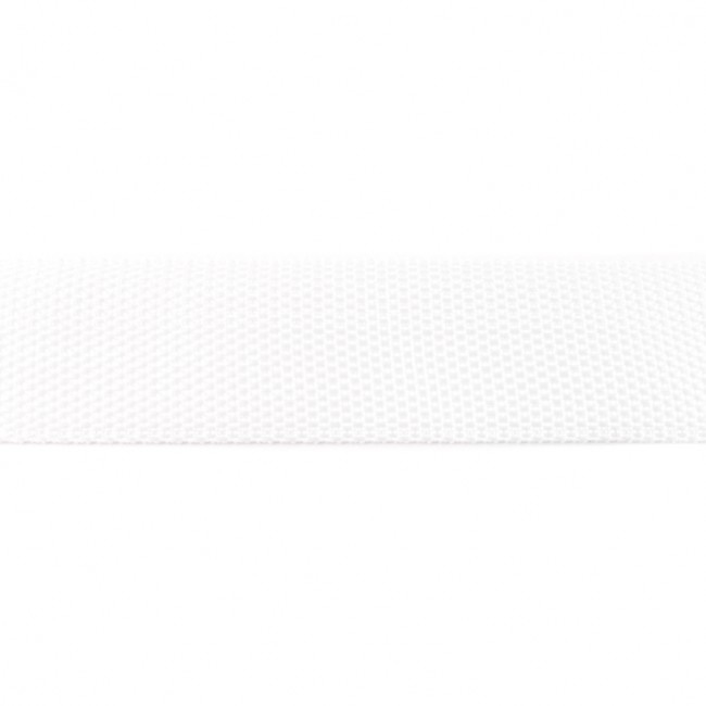 Tassenband Polypropylene   Wit     40mm