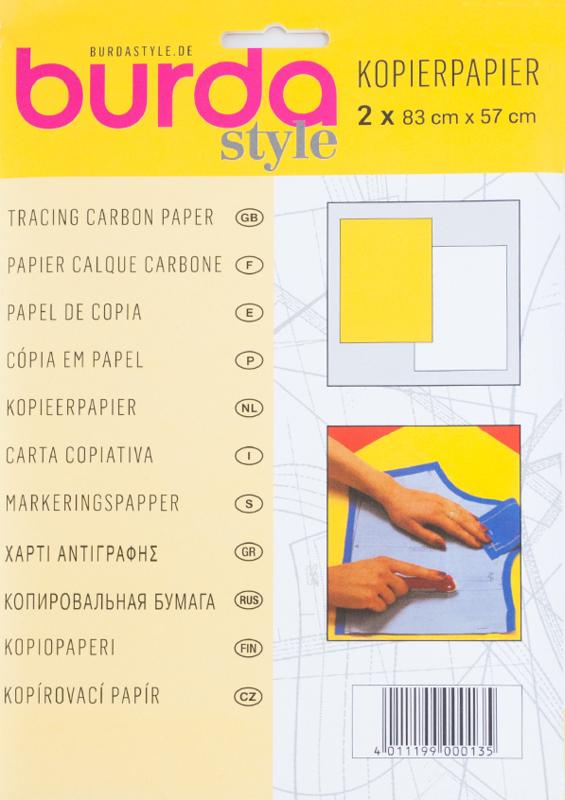 Burda kopierpapier   Geel - Wit