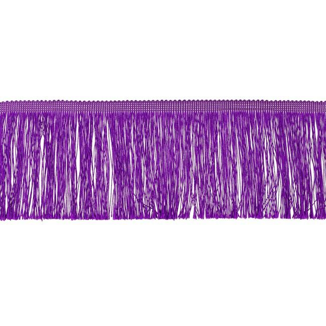 Franjeband    10 cm   Paars   - 32869
