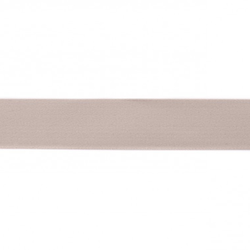 elastiek uni | 4 cm | kiezel