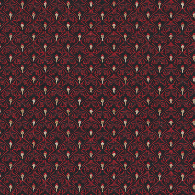 jaquard Premium Metallic | Dark Red