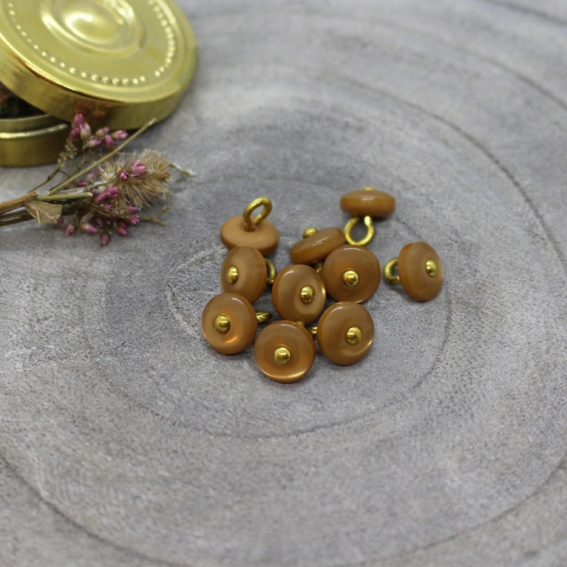 Atelier Brunette | Jewel Buttons - Ochre