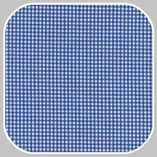 Katoen Ruit  | S | hard blauw