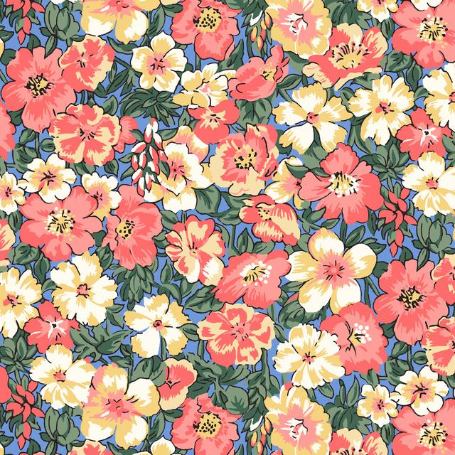 Liberty of London    Peach Bloom  - Orchard Garden