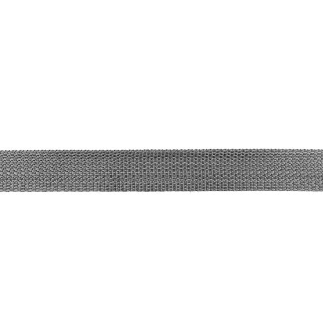 Tassenband Polypropylene | Midden Grijs  -  25mm