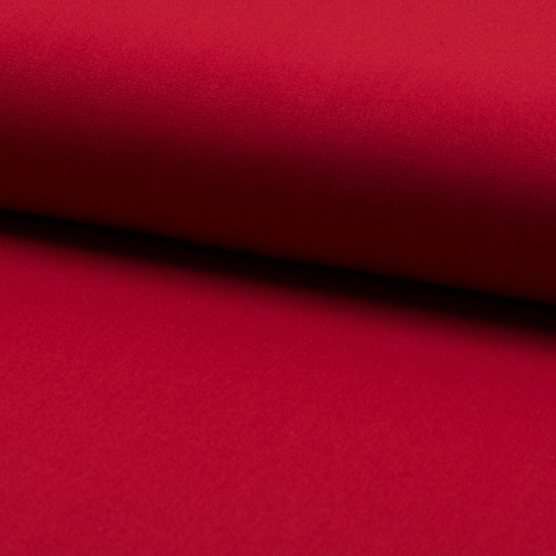 Wool touch  | two way stretch | Rood 315
