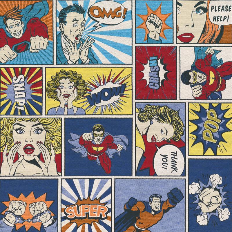 Decostof Jaquard | Pop Art Comic