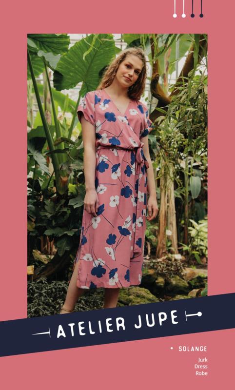 Atelier Jupe   Solange Dress  - Paper pattern