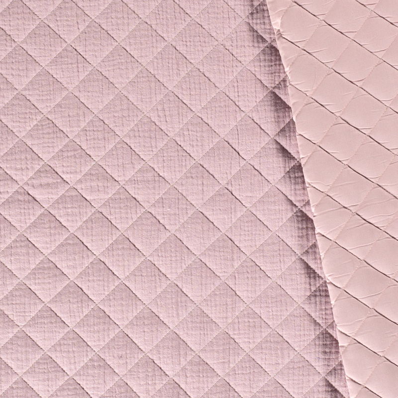 Double Gauze - Mousseline Quilted | Nude 012