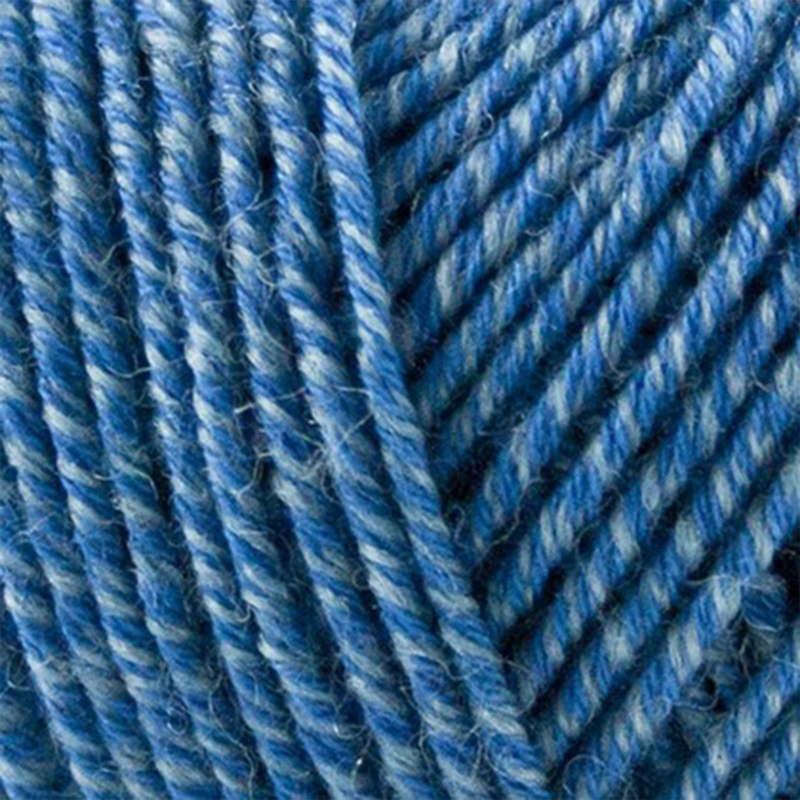 ONION | Fino Organic Cotton + Merino | 520 - hemelsblauw