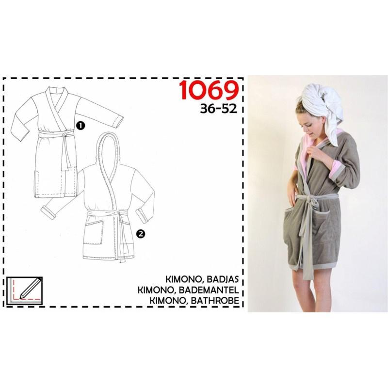 It'S A Fits | 1069 - Kimono - Badjas - maat 36- 52