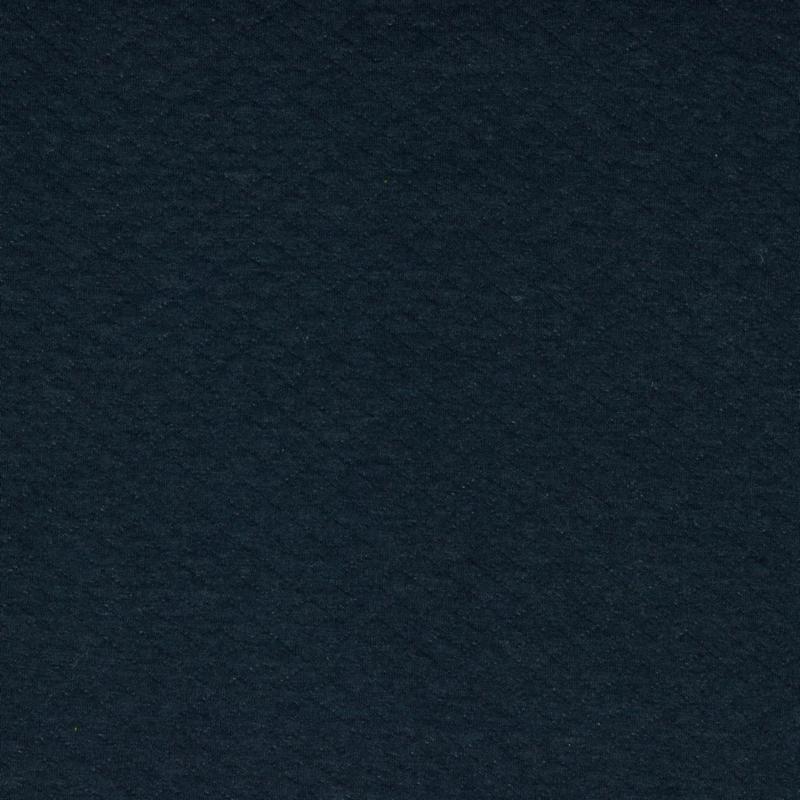 Tricot uni - Wafel - Quilt   Navy Melange 011