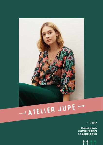 Atelier Jupe | Zoey Blouse  - Paper pattern