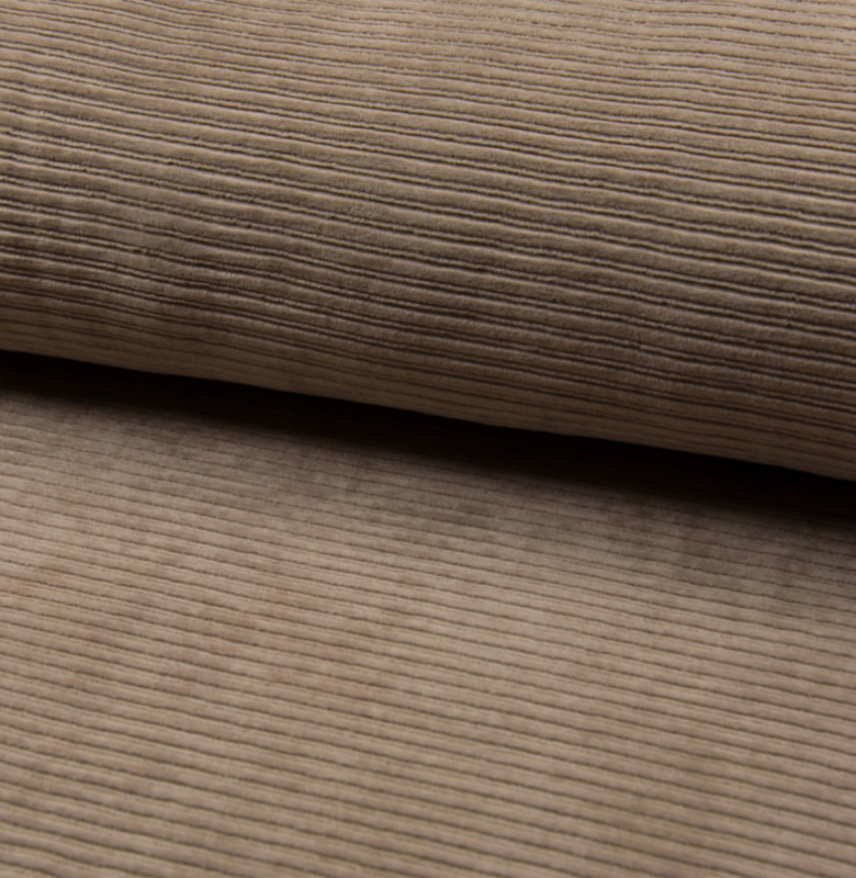 Jersey Corduroy   Taupe 055