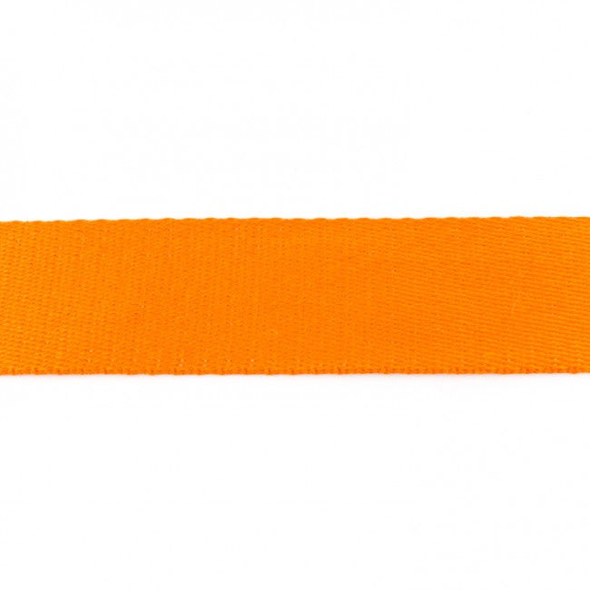 Tassenband Katoen | Oranje  | 4cm breed