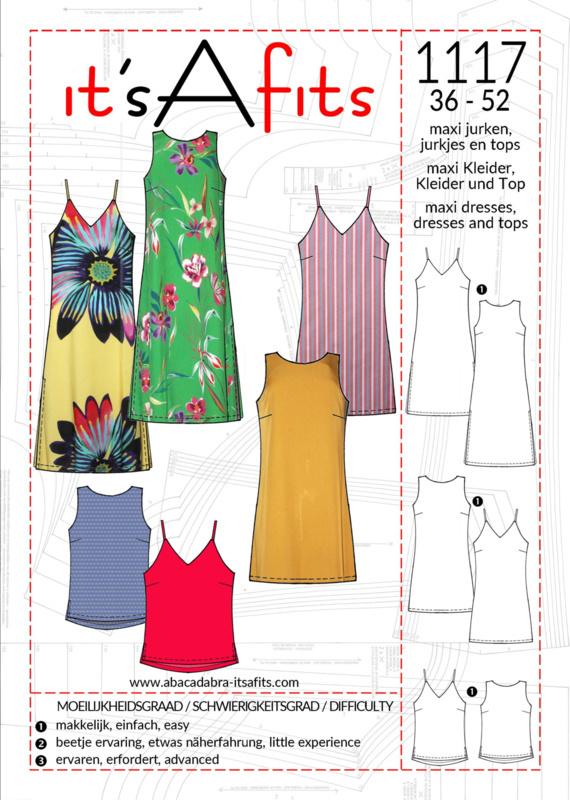 It'S A Fits | 1117 - Maxi jurken Jurkjes en Top