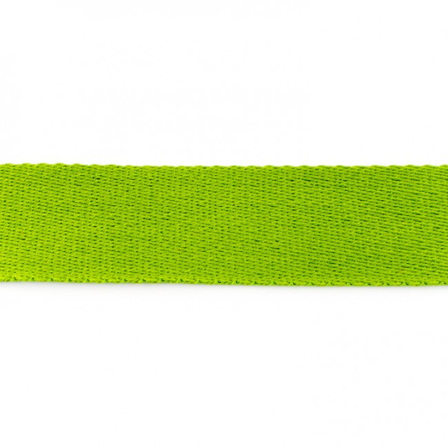 Tassenband Katoen | Lime  | 4cm breed