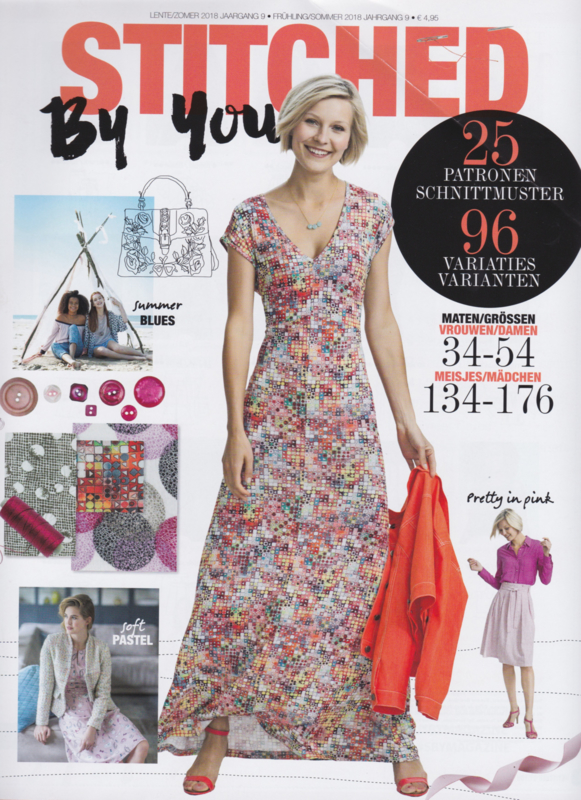 Stitched by you| lente - zomer  2018 | jaargang 9