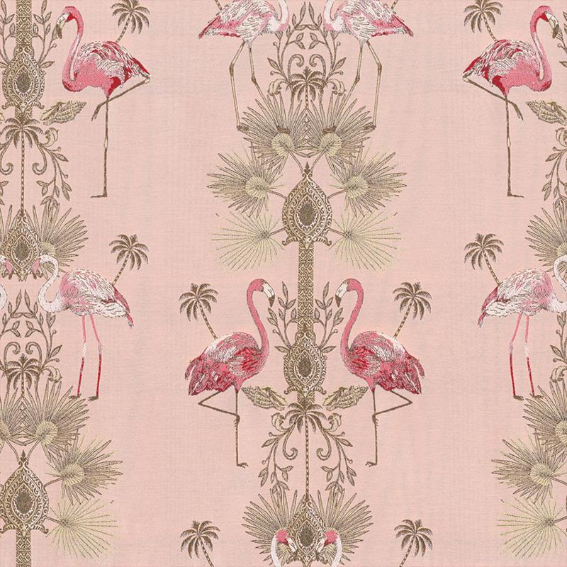 Jaquard Double Face | Flamingo  | Pink
