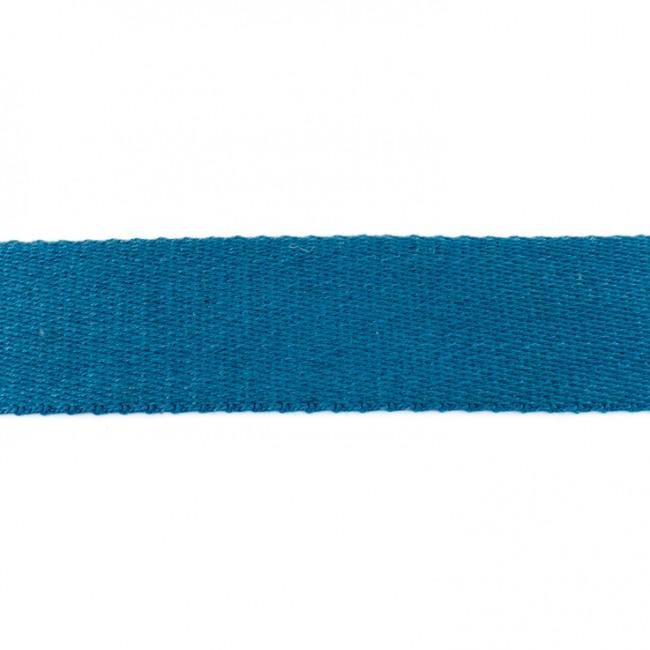 Tassenband Katoen | Jeansblauw  | 4cm breed