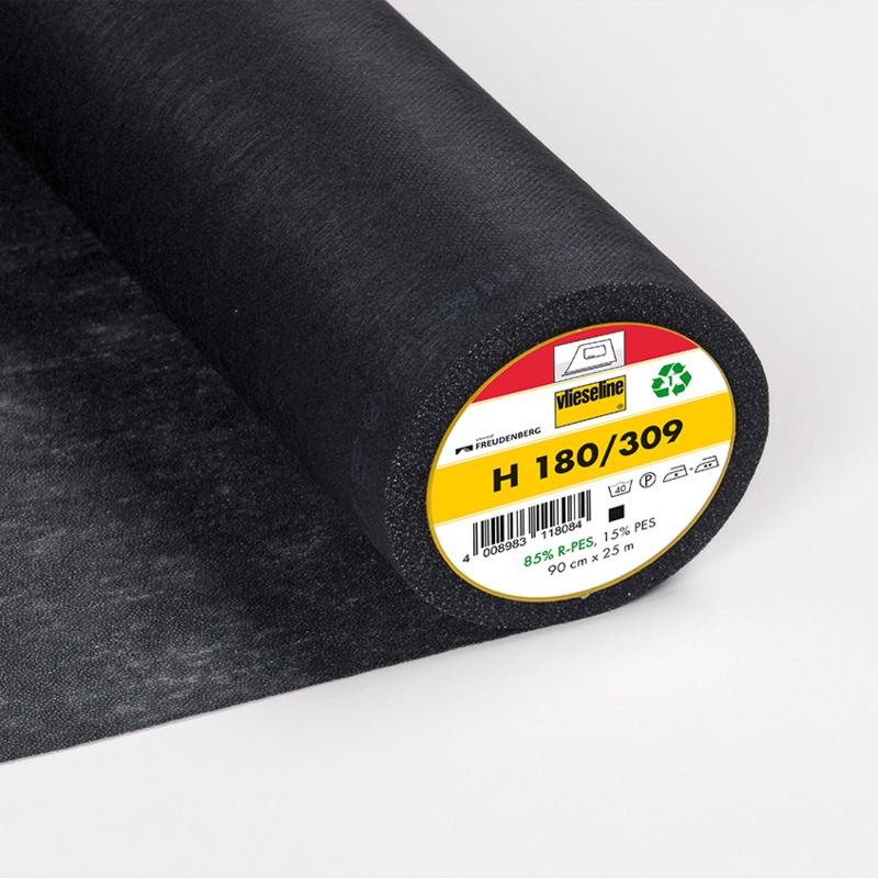 Vlieseline H 180 - Zwart