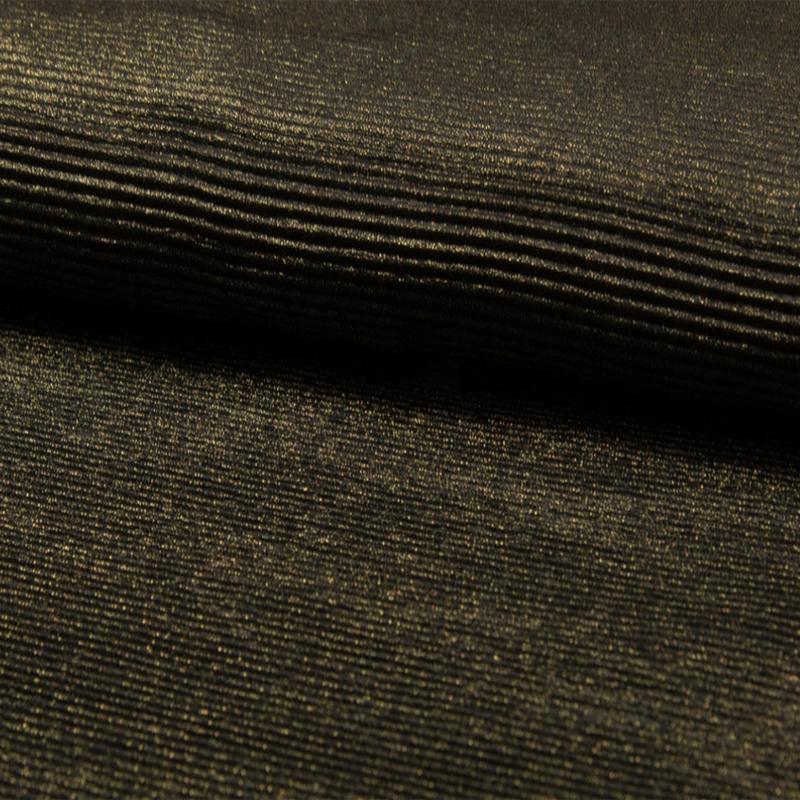 Plissee Lurex | Bronze