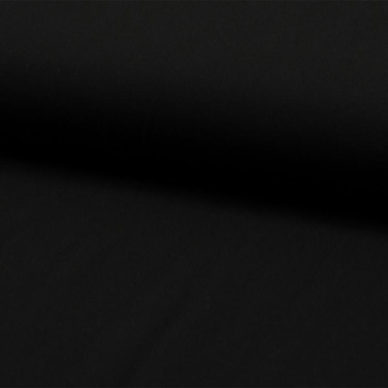 Viscose Uni   Zwart - 069