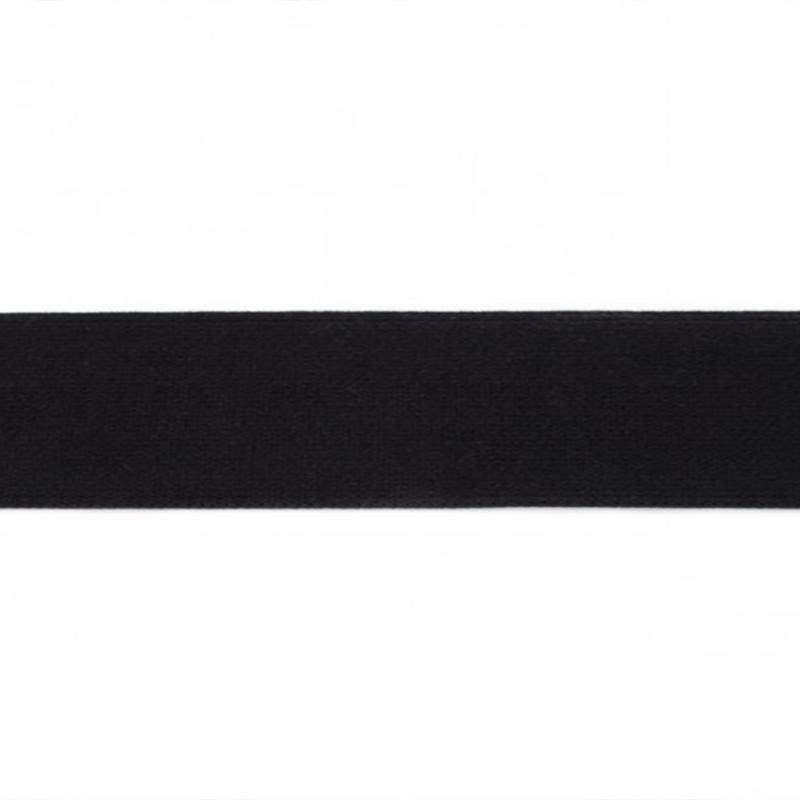 elastiek uni | 4 cm breed | zwart