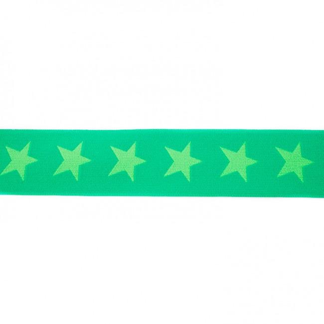 Elastiek  | 4 cm breed | Grasgroen - Groen