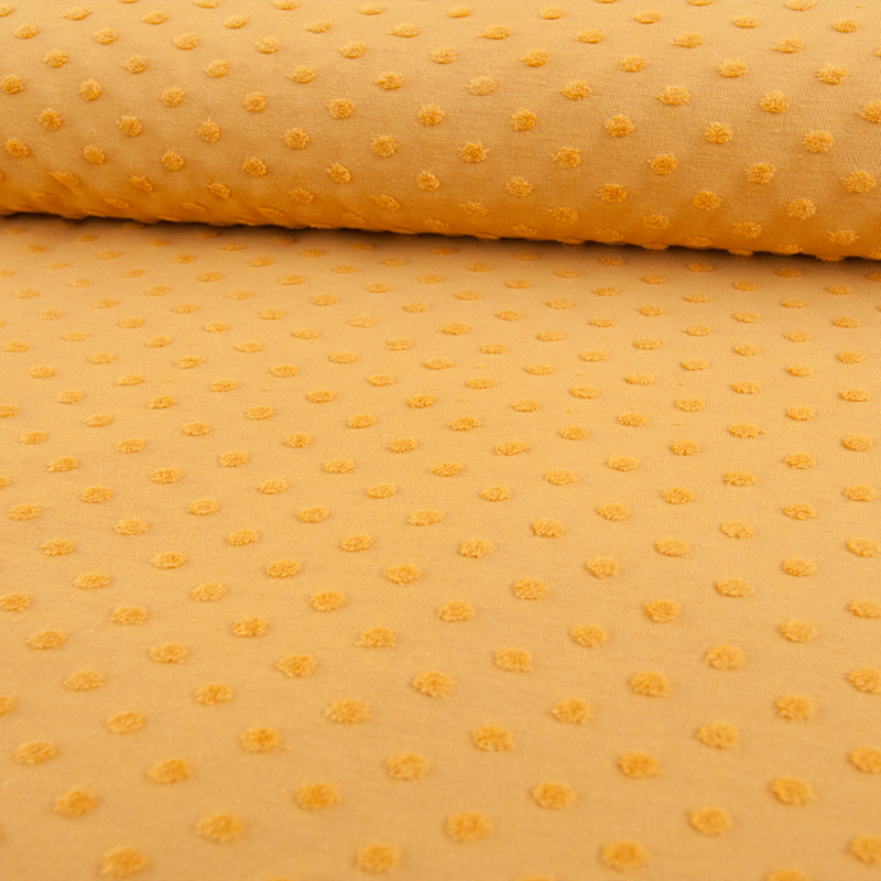 cotton  minky | geel