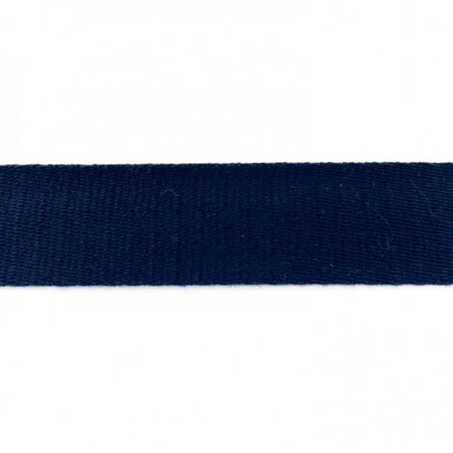 Tassenband Katoen   Donkerblauw   4cm breed