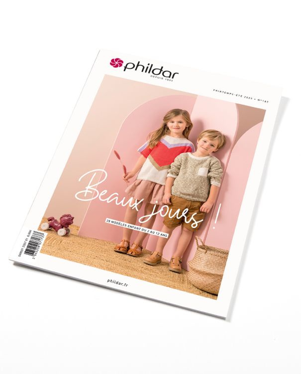 Phildar nr. 187   kindereditie   2 - 12 jaar