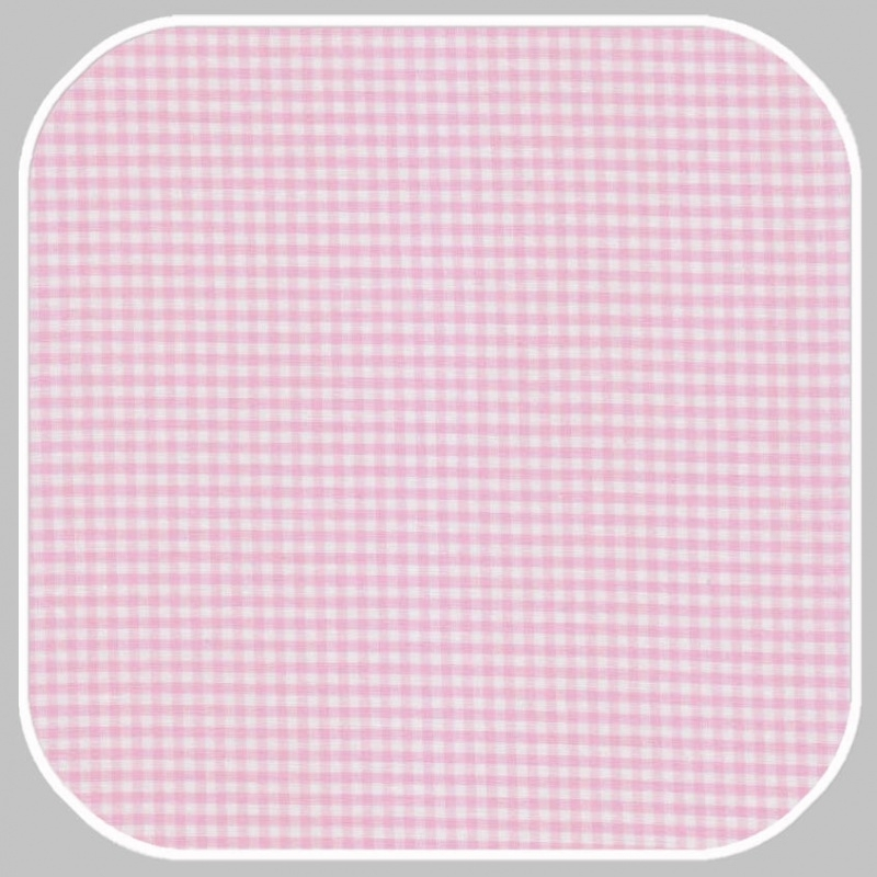 Katoen Ruit    S   roze