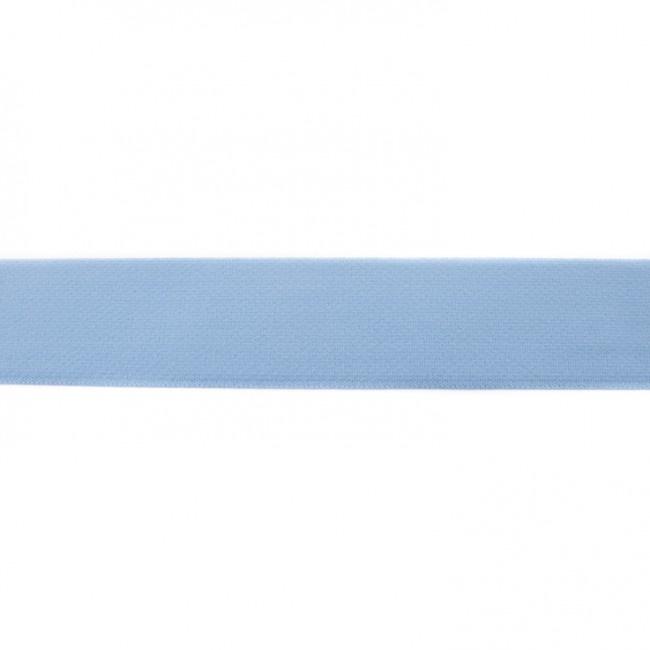 elastiek uni | 4 cm |  blauw