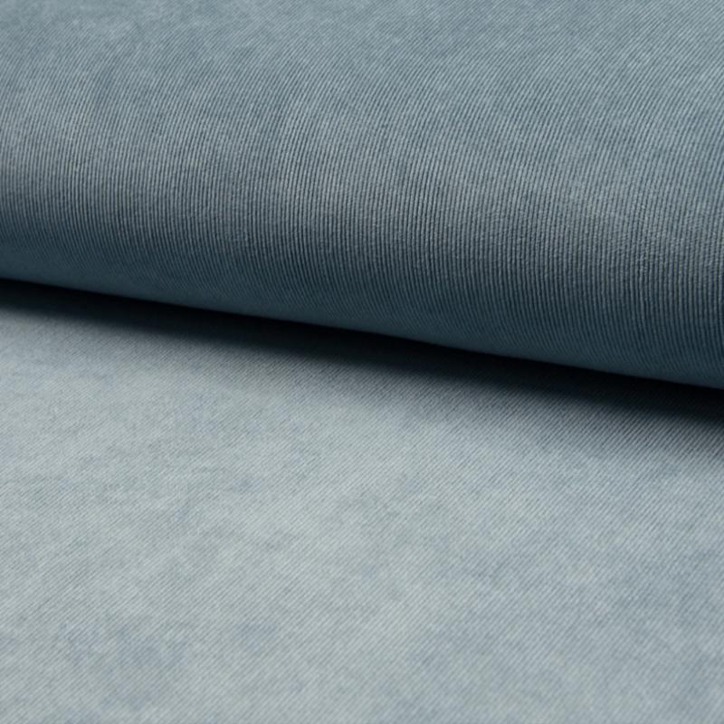 Ribcord stretch 3%   Dusty Blue - 004
