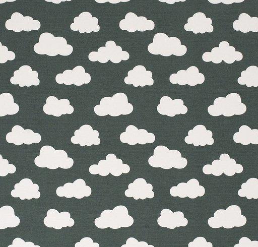decostof | wolk | Donkergroen