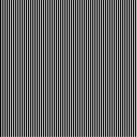Katoen Poplin   Stripe   black - White