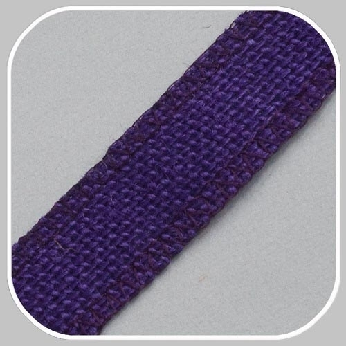 40900 jute band paars/25 mm