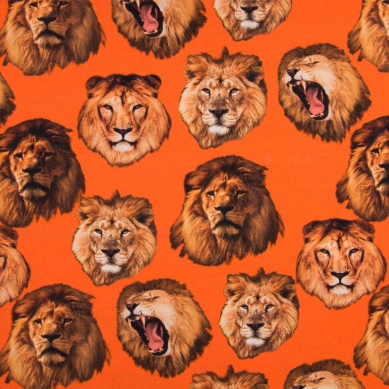 Tricot Digitaal   Oranje - Leeuw