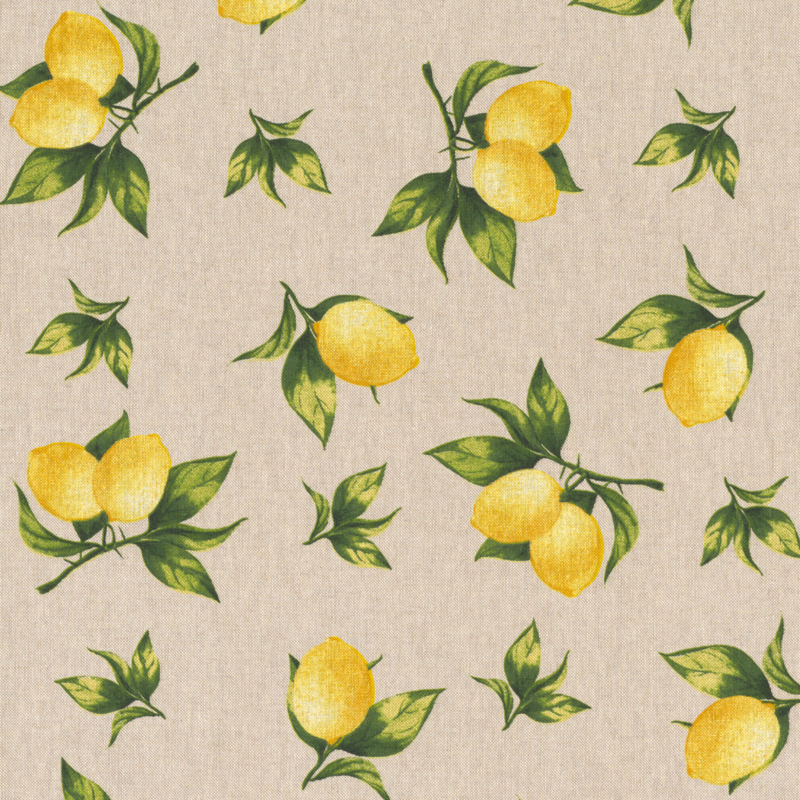 Decoprint   Linnenlook   Lemons