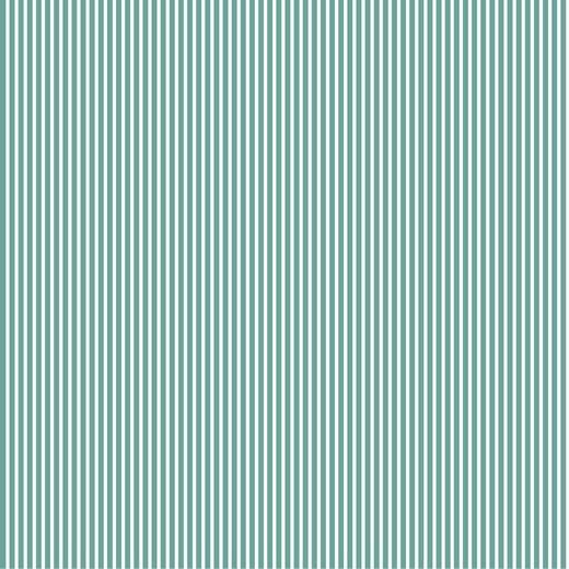 Katoen Poplin | Stripe | Old Green 029