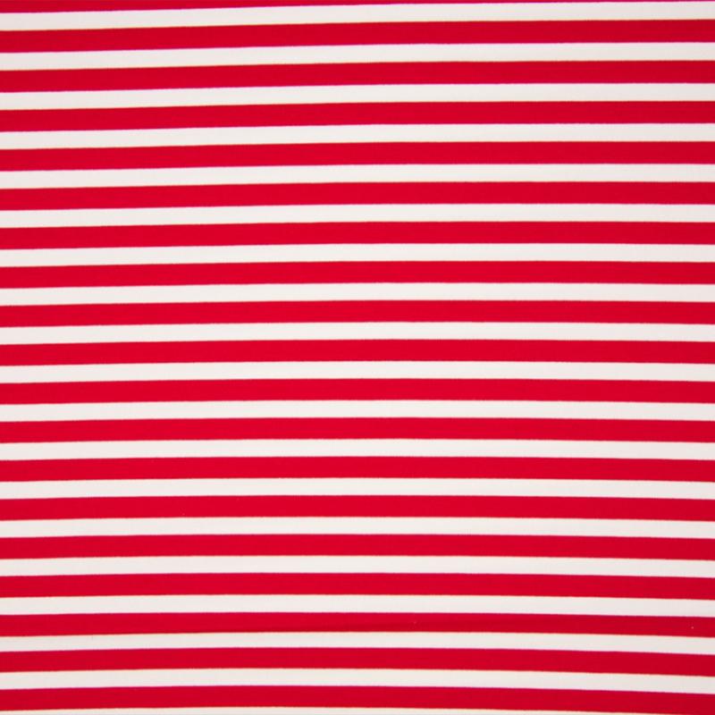 Punta di Roma   Stripes medium    1080 - 415 rood - wit