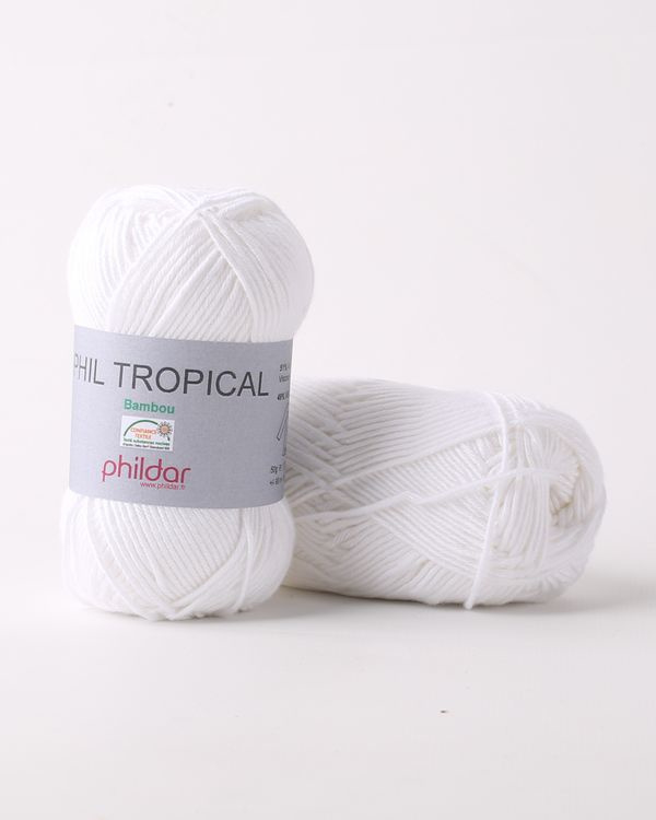 Phil Tropical | Blanc