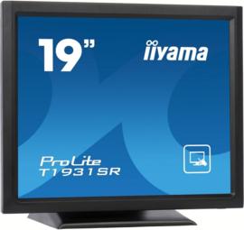 "iiyama ProLite T1931SR-1 19"" 1280 x 1024Pixels Tafelblad Zwart touch screen-monitor"